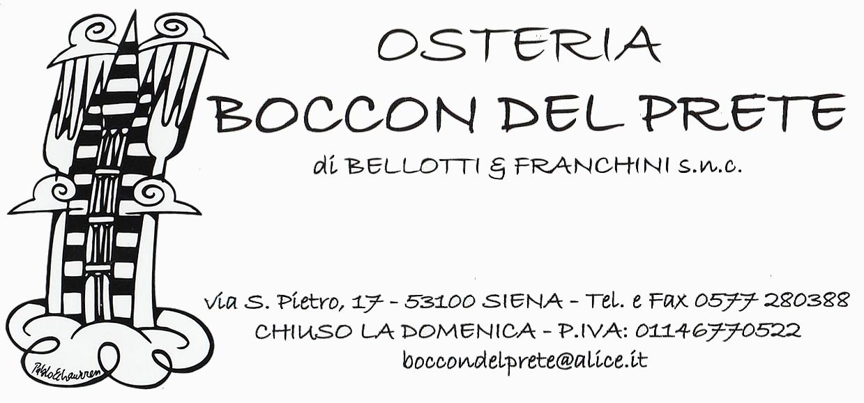 OSTERIA BOCCON DEL PRETE