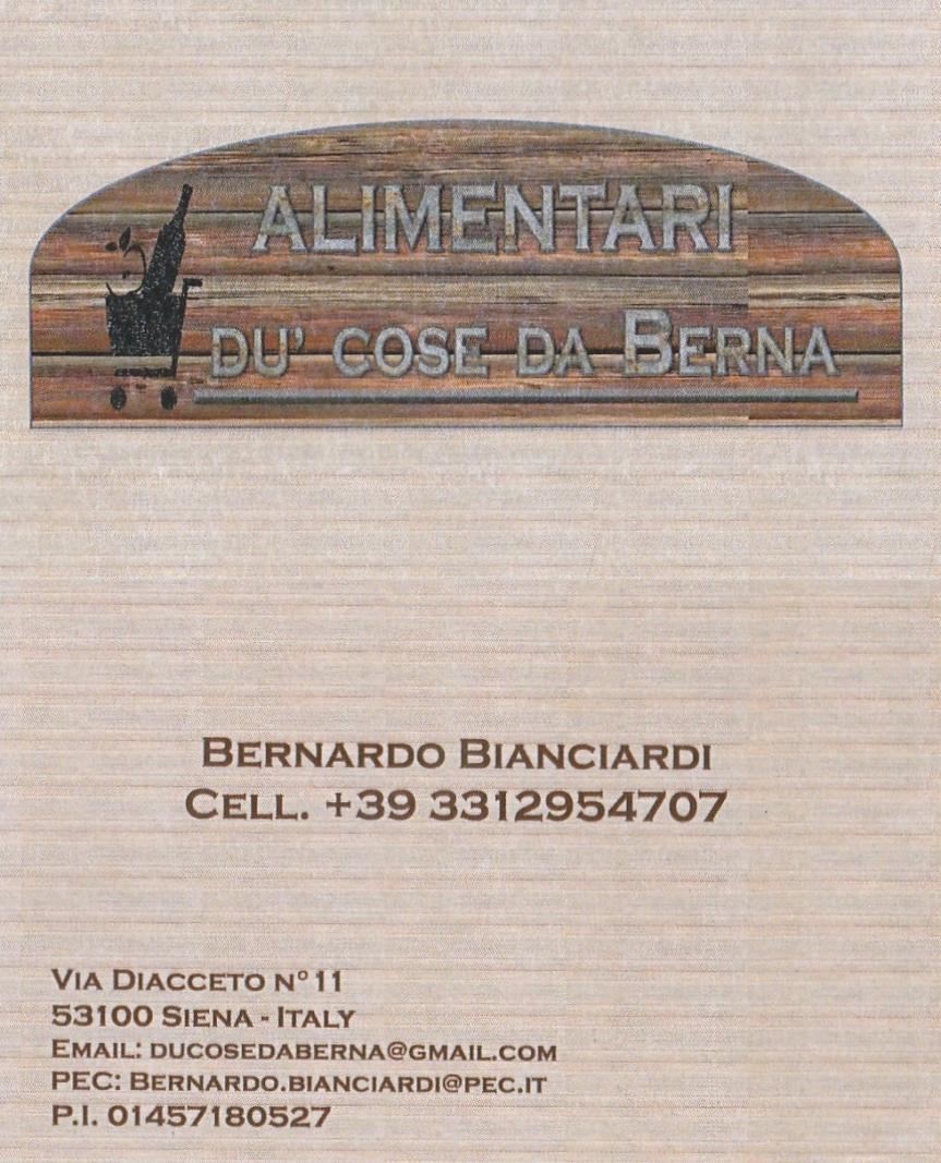 """Massi Lo Sà, Sponsor, """"Du Cose da Berna"""": Da domani 28/03 Bernardo vi consegna la vostra spesa adomicilio"""
