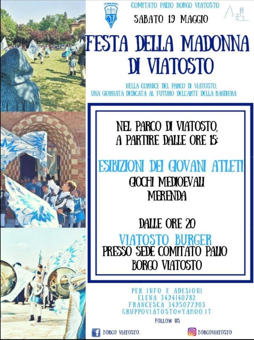 Asti, Festa della Madonna di Viatosto: 19-20/05 Un weekend all'insegna della tradizione e del futuro delPalio
