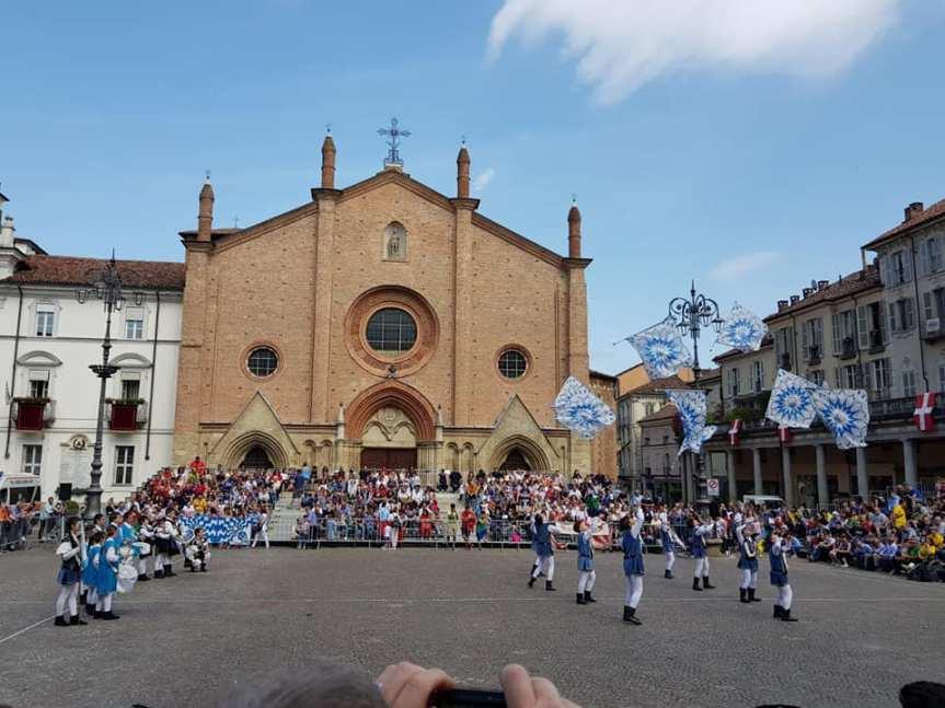 Asti: Ai giovani del Borgo Viatosto il Drappo A.S.T.A.5.0!!