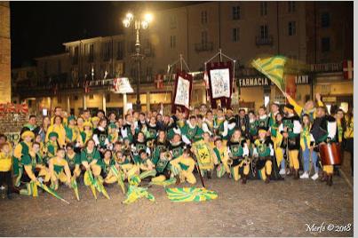 Palio di Asti: Tenzone Aurea – Anche il Gruppo del Borgo San Lazzaro ai Campionati italianiassoluti