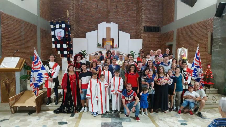 Palio di Asti, Torretta: Celebrato il BattesimoBorghigiano