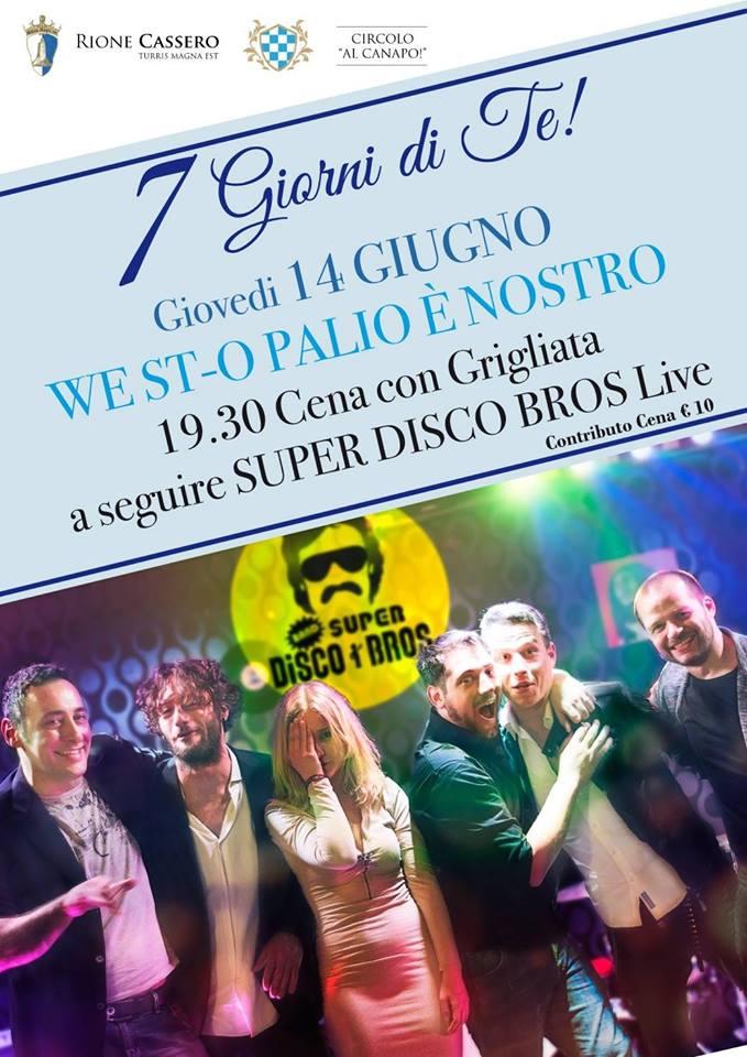 """Palio di Castiglion Fiorentino, Rione Cassero: 14/06 """"West-O Palio èNostro"""""""