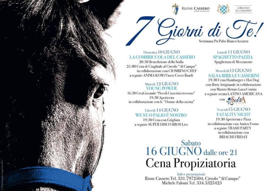 """Palio di Castiglion Fiorentino, Rione Cassero: Oggi 12/06 """"YoungPower"""""""