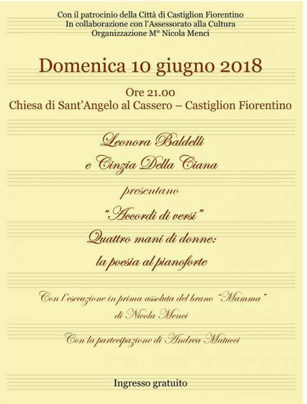 """palio di Castiglion Fiorentino: Oggi 10/06 """"Accordi diVersi"""""""