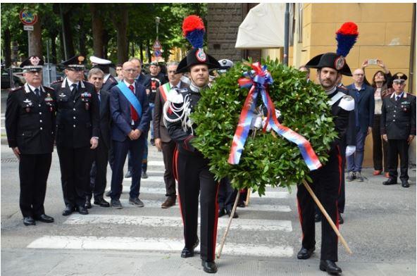 Siena: Cerimonia in ricordo dei Carabinieri Forziero e Campanile uccisi a Siena 29 annifa
