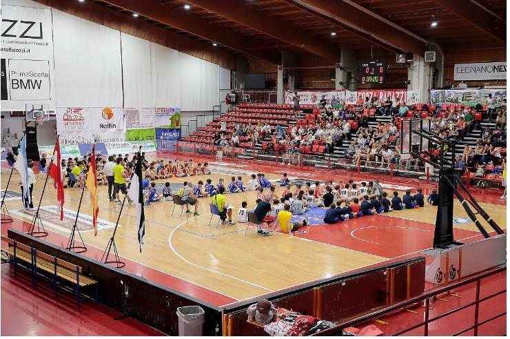Legnano, 3° Torneo delle Contrade di Minibasket: dopo il Palio al Pala Borsani vince ancora LaFlora