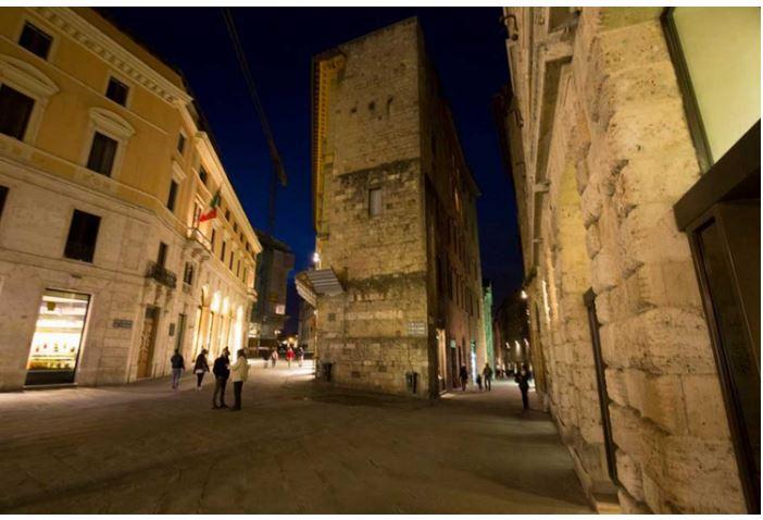 Angoli pittoreschi di Siena: Via GiuseppePianigiani