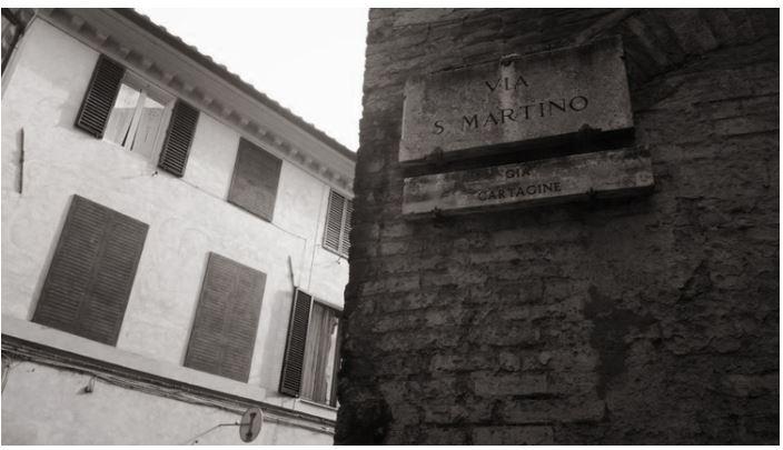 Angoli pittoreschi di Siena: Via SanMartino