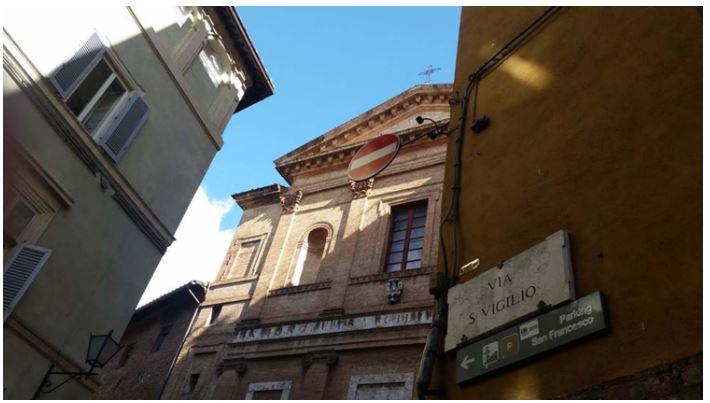 Angoli pittoreschi di Siena: Via SanVigilio