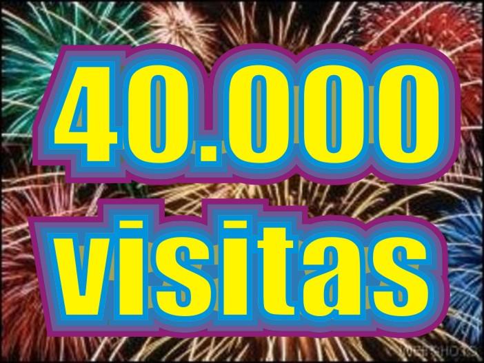 Nuovo record del Blog: Superata quota 40.000Visite!!