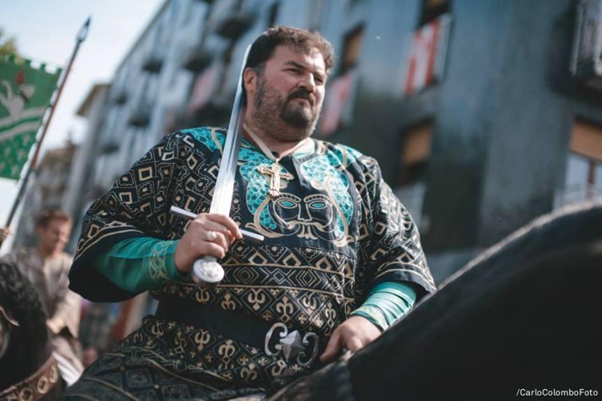 Palio di Legnano, Contrada San Domenico: Alessandro Bondioli è il nuovo Capitano, Vincenzo Saitta il GranPriore