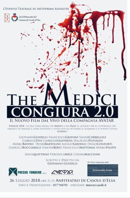 Casole d'Elsa: 26/07 The Medici-Congiura 2.0  e ProssimiAppuntamenti