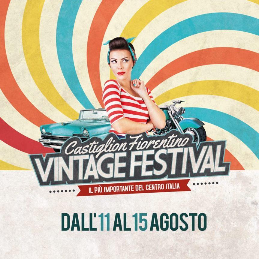 """Castiglion Fiorentino: 11-15/08 """"VintageFestival"""""""