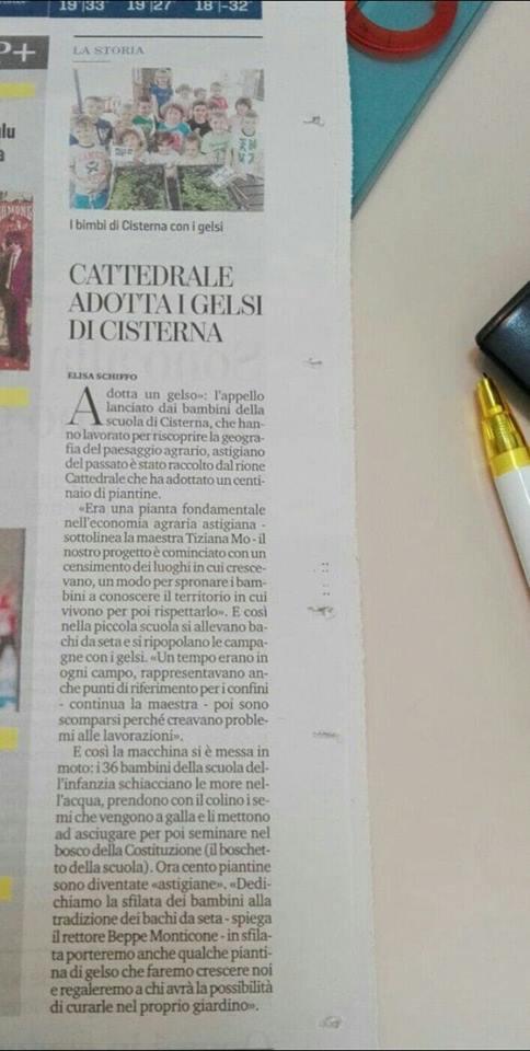 Palio di Asti, Rione Cattedrale: Cattedrale adotta i Gelsi diCisterna