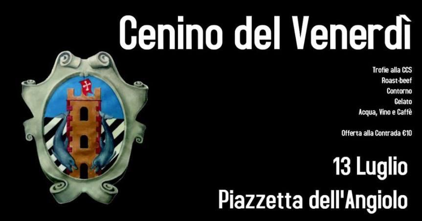 Palio di Bientina, Contrada Centro Storico: 13/07 Cenino delVenerdì
