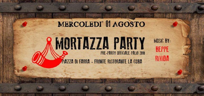 Palio di Feltre, Quartiere Santo Stefano: 01/08 Mortazza Party! – Piazza di farra w/QSS