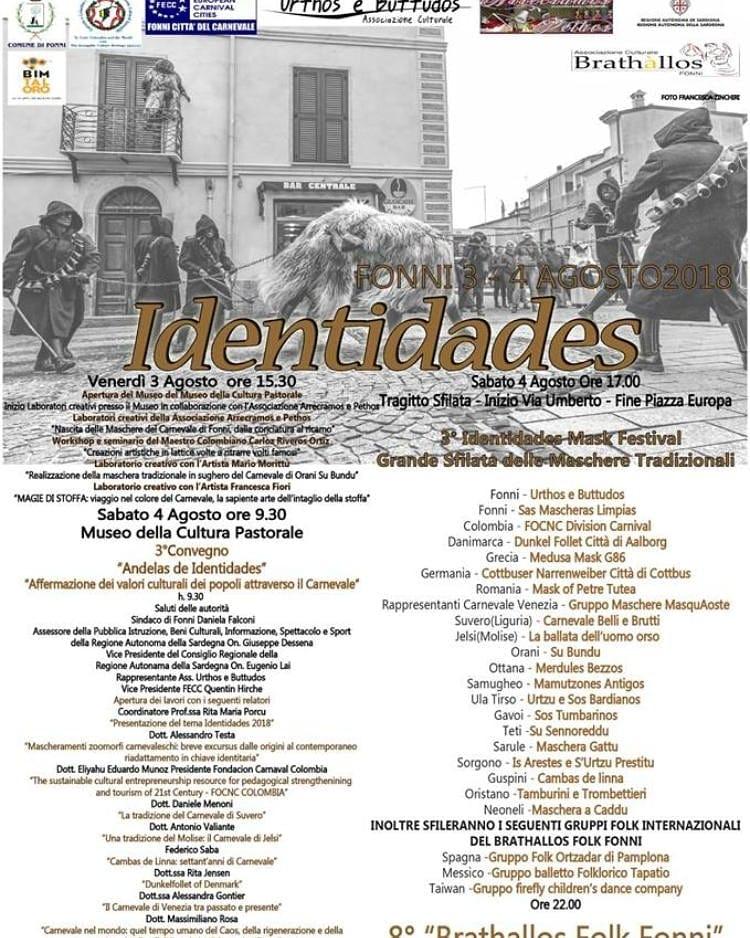 Sardegna, Fonni: 03-04-05/08 Identidas &Palio