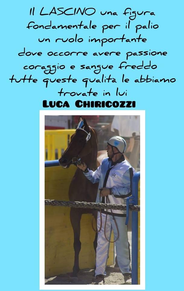 Palio di Ronciglione, Premio Salvatore Sangiorgi: Vince Luca Chirozzi lascino di FontanaGrande