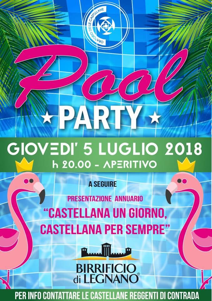 """Palio di Legnano, Oratorio delle Castellane: 05/07 """"PoolParty"""""""