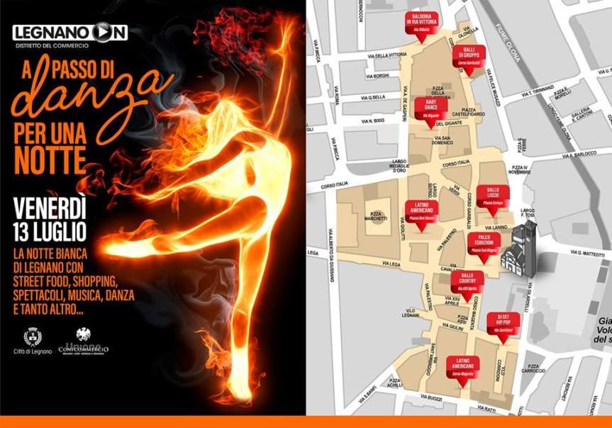 Legnano,Notte Bianca: Il più grande spettacolo dopo il BigBang