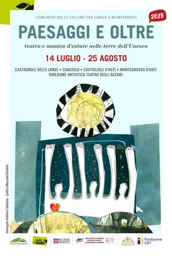 """Asti: Continua il festival """"Paesaggi e oltre"""", Sabato 28 il duo musicale Biagio Bagini e Gian LuigiCarlone"""
