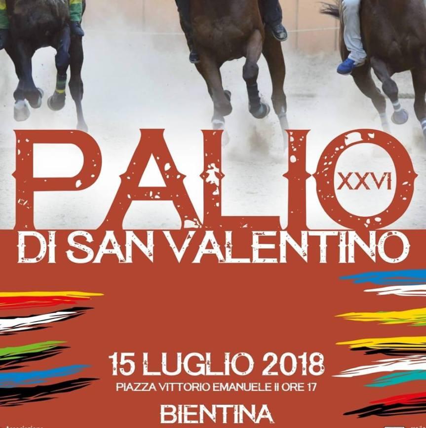 Palio di Bientina:  Accoppiate fantini e cavalli Contrada perContrada
