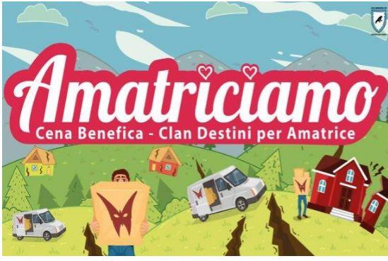 Legnano, Contrada Sant'Erasmo: 21/07 Clan Destini, una cena per aiutareAmatrice
