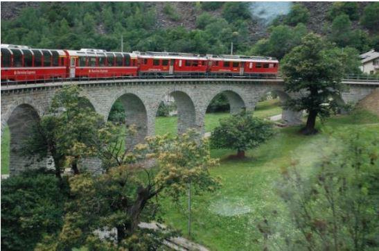 Legnano: Famiglia Legnanese in gita sul trenino delBernina