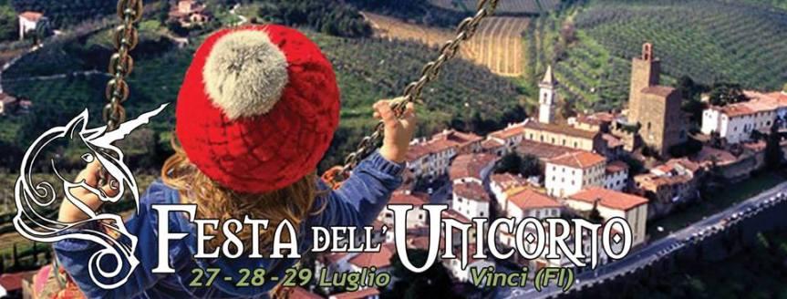 Vinci: 27-28-29/07 Festa dell'Unicorno 2018