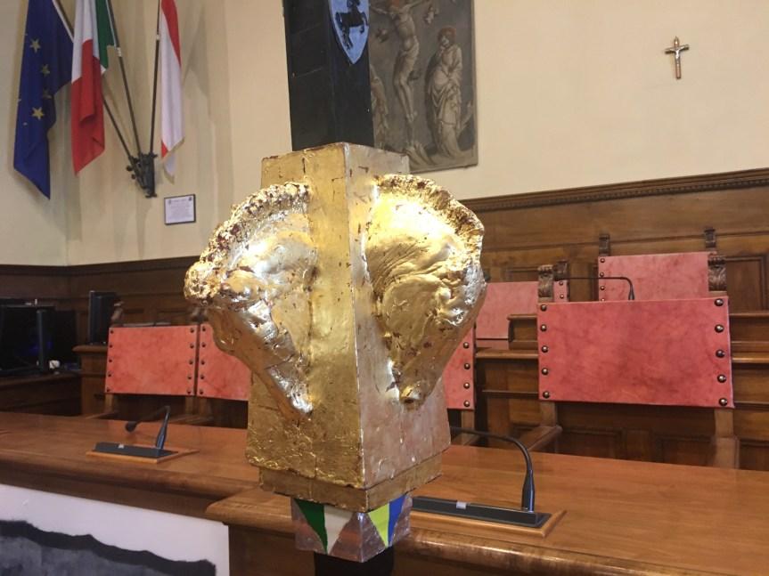 Arezzo, Giostra del Saracino: Presentata la Lancia d'Oro di GustavoAceves
