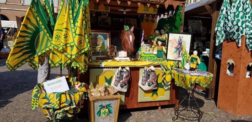 Palio di Asti, Rione San Lazzaro: La Bancarella al mercatino èaperta