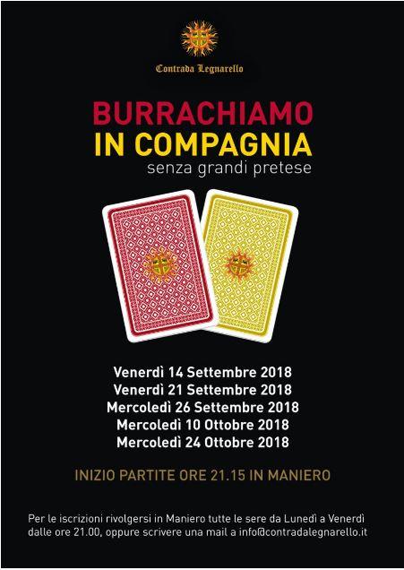 Legnano, Contrada Legnarello: Burrachiamo in Compagnia senza grandipretese
