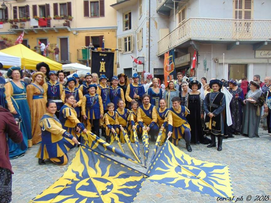 Palio di Asti, Borgo San Marzanotto: Comunicazione del Borgo sull'uscita a LanzaTorinese