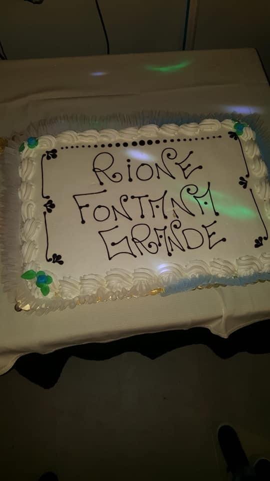 Palio di Ronciglione, Rione Fontana Grande: Resoconto Cena della Vittoria2018