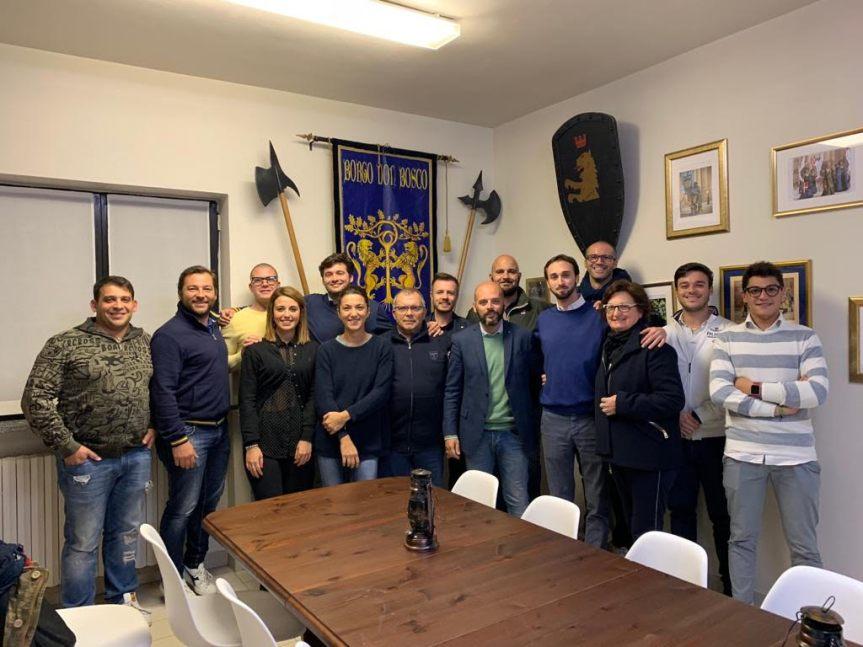 Palio di Asti, Comitato Palio Borgo Don Bosco: Riconferma il rettore Scassa e il fantinoTittia