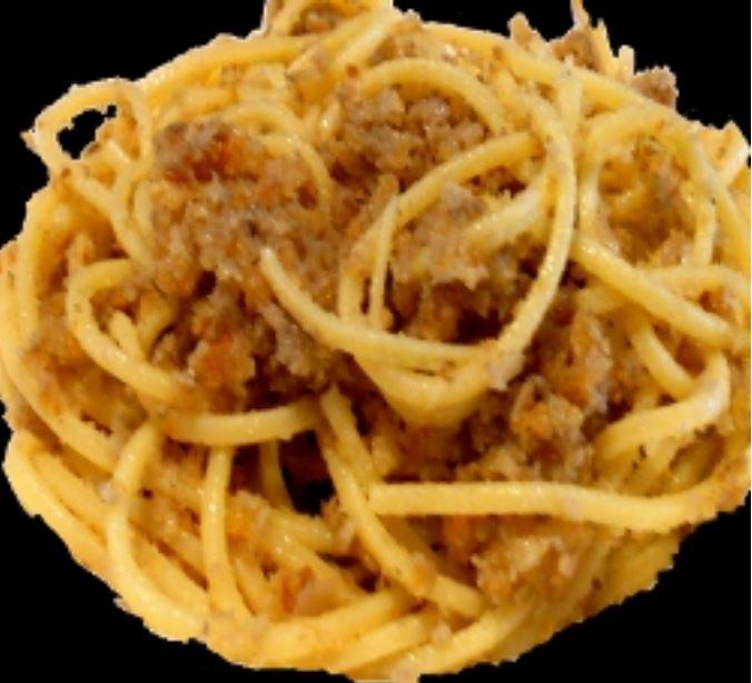 Siena, Gastronomia: Pici alle briciole conrigatino