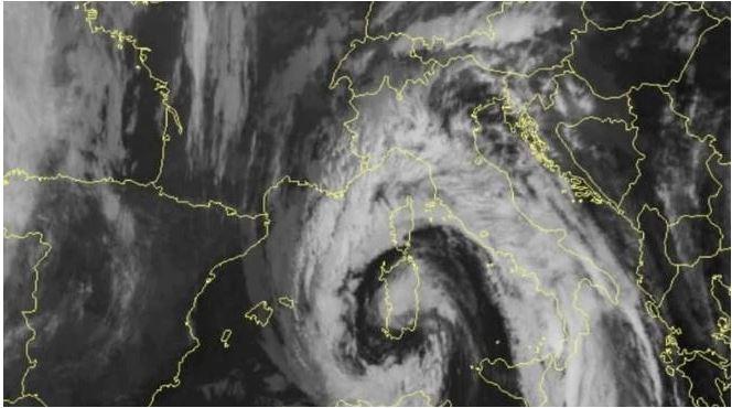 Toscana, Maltempo:  Codice giallo fino a lunedì 3 dicembre su costa ed entroterra centro-settentrionali
