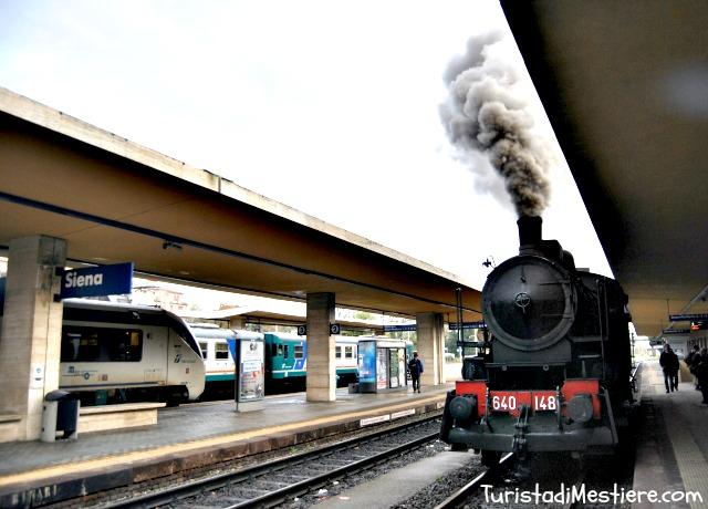 Siena: Tartufo bianco con il treno avapore