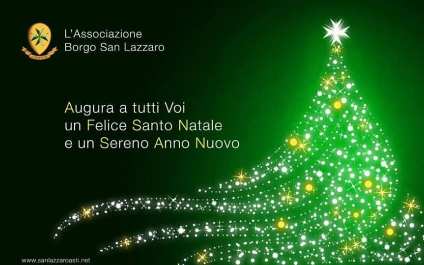 Palio di Asti, Comitato Palio Borgo San Lazzaro: Il Comitato Palio Augura un Felice Santo Natale e un Sereno AnnoNuovo