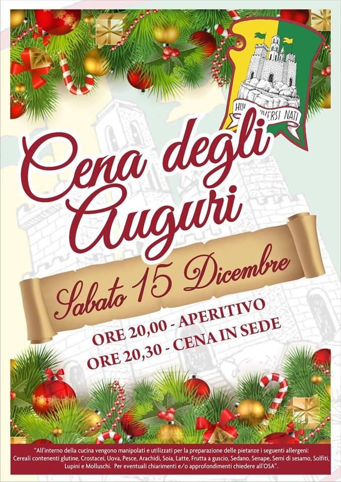 Palio di Castel del Piano, Contrada Poggio: Oggi 15/12 Cena degliAuguri