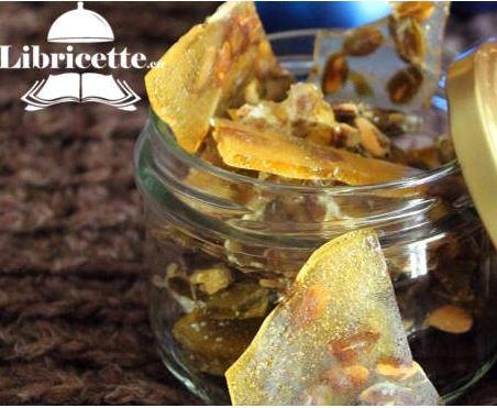 Gastronomia, Le ricette delle feste: Croccante con Semi diZucca