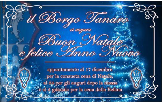 Palio di Asti, Borgo Tanaro-Trincere-Torrazzo: Festeggiamenti Natale 2018 gliappuntamenti
