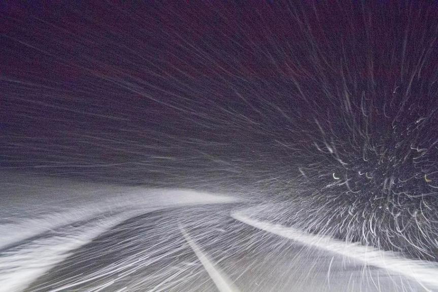 Toscana, Maltempo: Estesa fino alle ore 13 di Domani 17/12 l'allerta gialla per neve vento eghiaccio