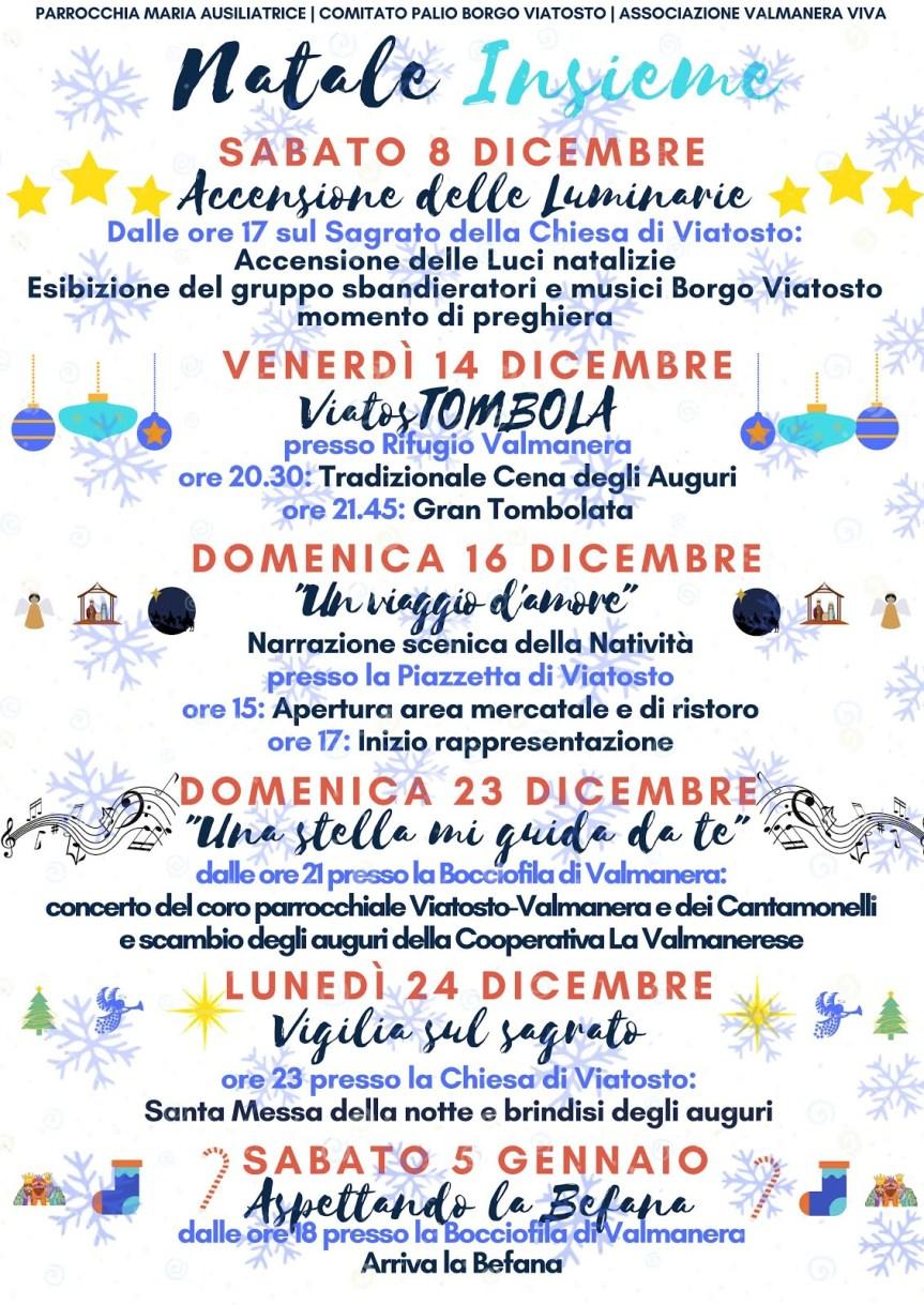 Palio di Asti, Comitato Palio Borgo Viatosto: Gli Appuntamenti Natalizi2018