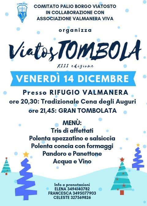 Palio di Asti, Comitato Palio Viatosto: 14/12 Viastombola!!2018