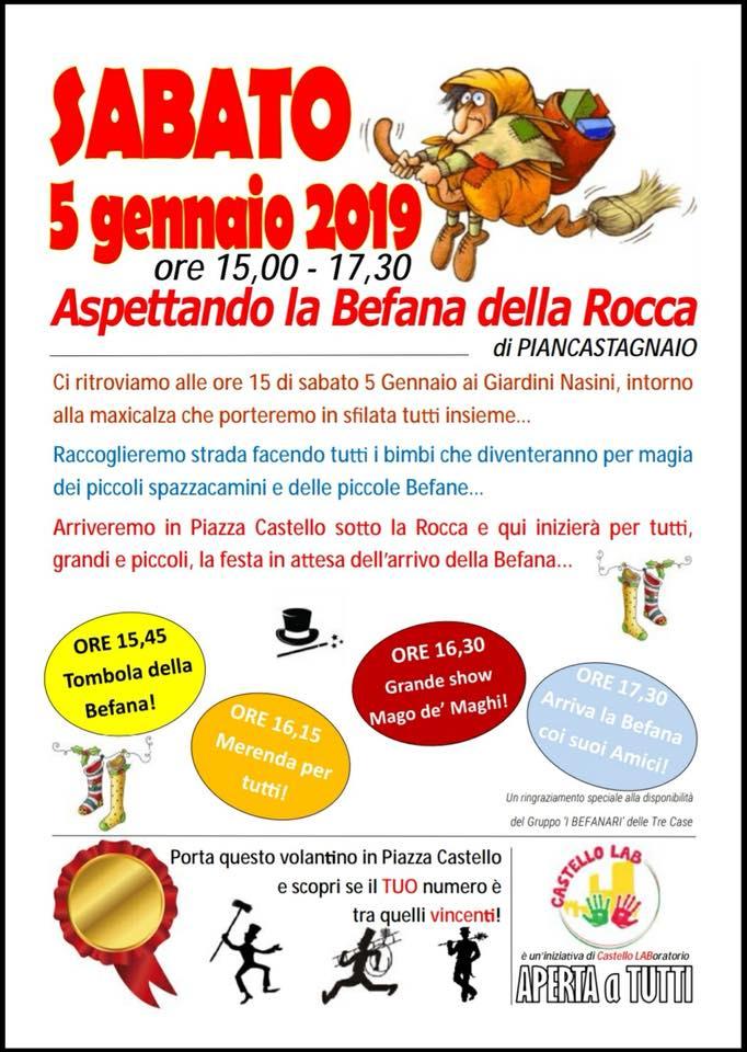 Palio di Piancastagnaio, Contrada Castello: 05/01 La Befana dellaRocca