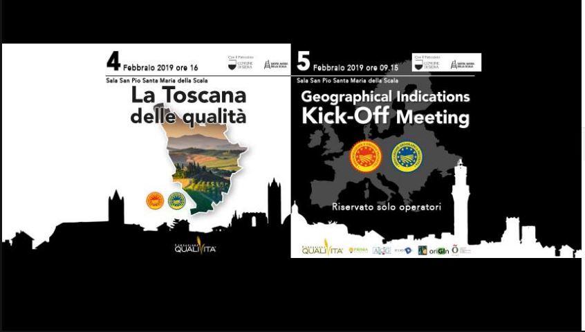 """Siena: Video presentazione giornate  sulle """"indicazioni geografiche"""" che si terranno al Santa Maria della Scala il04-05/02"""
