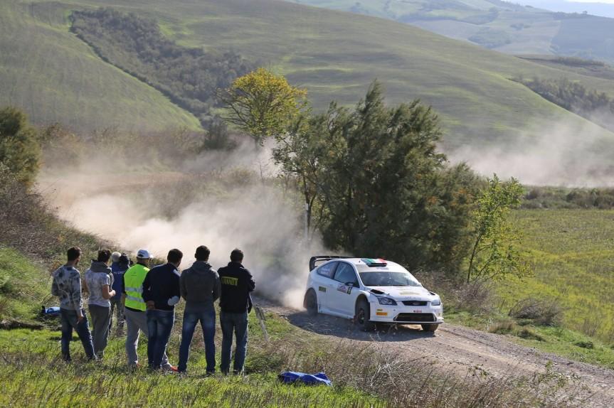Provincia di Siena: Rally della Val d'Orcia, alta qualità degli iscritti tra i quali il campione mondiale Produzione 2015 GianlucaLinari