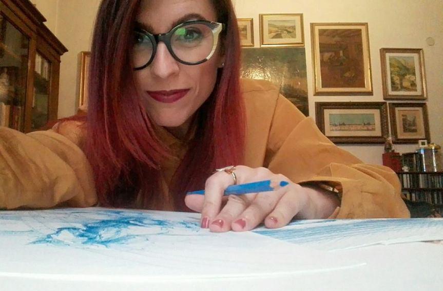Palio della Costa Etrusca: Sara Guerrini parla della mostra delle sue opere a SanVincenzo